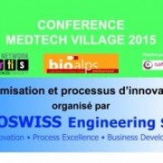 Conference Optimisation BioAlps- Eoswiss Engineering